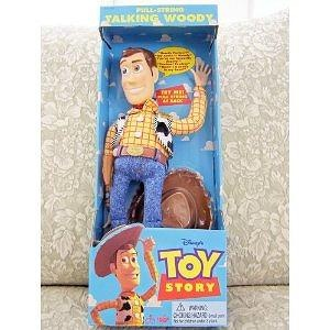 "1996 Toy Story 16"" Pull String Talking Woody"