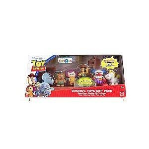 Disney / Pixar Toy Story 3 Exclusive Mini Figure Buddy 7Pack Bonnies Toys Gift Pack
