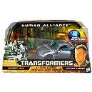 "Hasbro Year 2010 Transformers Human Alliance ""Hunt for the Decepticons"" Series Robot Action Figure Set - Voyager Class 7 Inch T"