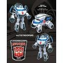 TRANSFORMERS ANIMATED BOTCON 2011 AUTOTROOPERS SET OF 3 LIMITED EDITION ACTION FIGURES