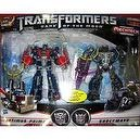 Transformers Dark of the Moon 8 Inch Action Figure Mechtech Voyager Class Exclusive 2-Pack: Optimus Prime and Shockwave