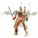 Star Wars Transformers More Than Meets The Eye 7 Inch Tall Action Figure - Luke Skywalker X-Wing Fighter with 4 Projectile Miss