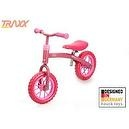 Hauck Traxx E-Z Rider 10 Learning Bike, Bubble Pink
