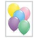 "Qualatex 16"" Round Balloons, Pastel Assortment - Pack of 50  Qualatex 16"" Round Balloons, Solid Colors - Standard/Fashion"