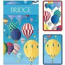 Caspari Bridge Gift Set, Jumbo Typeface, Hot Air Balloons  Caspari Bridge Gift Set, Jumbo Typeface