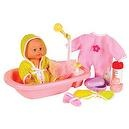 All About Baby Doll Babys Bath Time Baby Doll (Brittany)