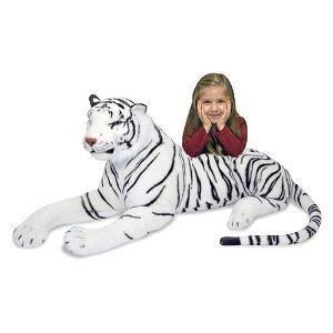 Melissa & Doug White Tiger Plush