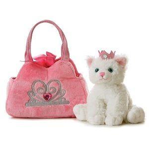 Aurora Plush Fancy Pals Pet Carrier Princess Kitten