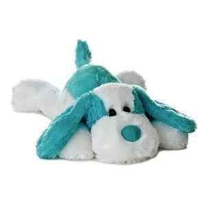 "Aurora Plush 12"" Flopsie Aqua Scruff"