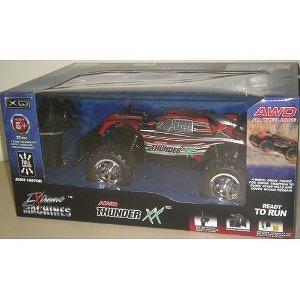 Extreme Machines AWD Thunder XX Red Radio Control Car