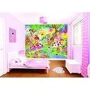 Uk Walltastic Childrens Wallpaper Mural Magical Fairies