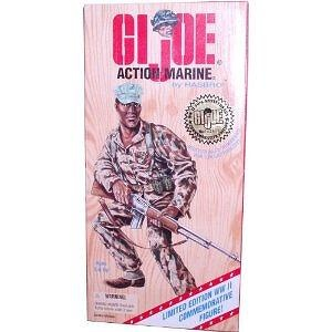 G.I. Joe 1996 Limited Edition World War II 50th Anniversary Commemorative Series with Individually Numbered 12 Inch Tall Soldie