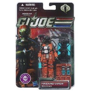 GI Joe 30th Anniversary 3.75 inch Figure Hazard-Viper Toxin Specialist