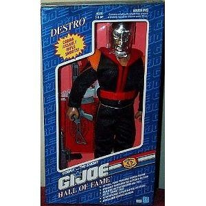 "GI Joe Hall of Fame Cobra DESTRO 12"" Action Figure (1992 Hasbro)"