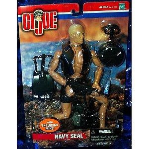 "G.I. Joe Navy Seal with Exploding Mine 12"" Action Figure"