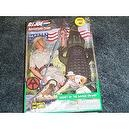 "Gi joe Secret of the Savage Swamp The adventures of Gi Joe 12"" with Alligator and kung fu grip"