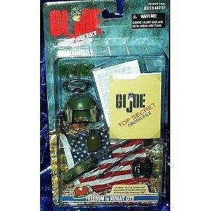 "G.I. Joe Freedom in Kuwait City Accessory Set for 12"" Figure"
