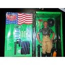 "GI Joe Footlocker with Gear and 12"" Figure"