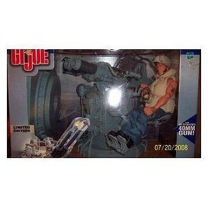 "1:6 Scale GI Joe WWII Navy Twin Mount Anti-Aircraft Gun with Navy Action Sailor Gunner 12"" Action Figure"