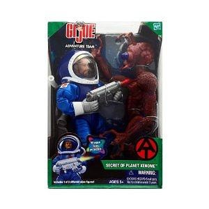 Secret of Planet Xenome GI Joe Adventure Team with Reddish Brown Alien