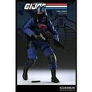 GI Joe Sideshow Collectibles 12 Inch Deluxe Action Figure Cobra Trooper