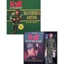 Gi Joe Action Soldier Masterpiece Edition Delux Book and Reproduction 1964 Gi Joe Vol 1 red hair