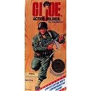 GI Joe Action Figure with Gray Hair - WWII 50th Anniversary Commemorative Edition