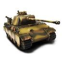 Forces of Valor German Panther Ausf. G (New Package and Paint)