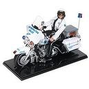 "G I Joe Electra Glide Harley-Davidson Motorcycle with Exclusive12"" G I Joe Police Officer"
