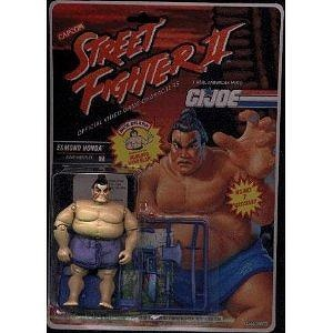 "G.I. Joe 3"" Edmond Honda Street Fighter Hasbro 1990 Action Figure"