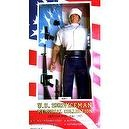"12"" Vietnam War U.S. Navy Petty Officer First Class Poseable Figure - U.S. Serviceman Memorial Collection"