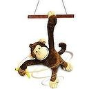 Whirling Willie Animated Plush Monkey Stuffed Animal