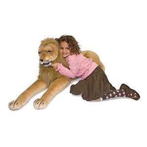 Melissa & Doug Huggable Plush Stuffed Lion
