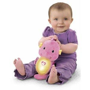 Fisher-Price Ocean Wonders Soothe and Glow Seahorse, Pink Fisher-Price Ocean Wonders Soothe and Glow Seahorse Pink