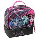 Monster High Zipper Sisters insulated lunch tote