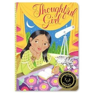 Astronomer Thoughtful Girl Journal