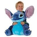 Disney Store Large Plush Stuffed Animal Toy -- STITCH (18 H seated)
