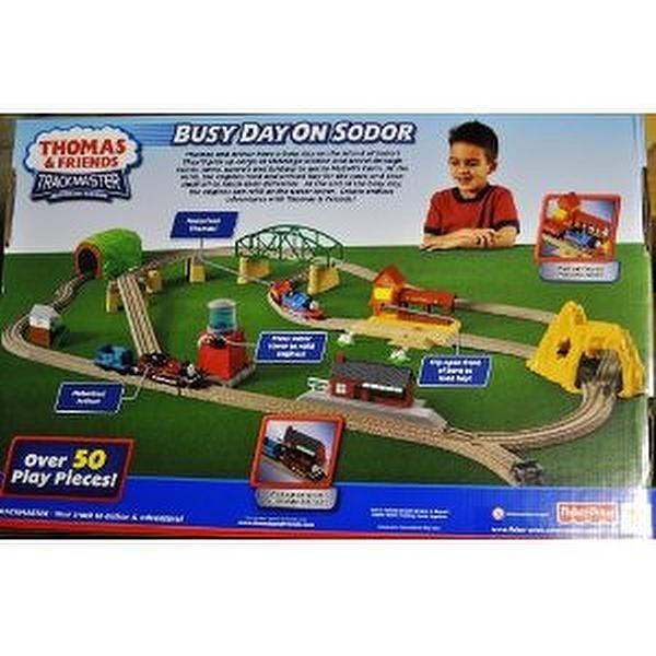 Thomas and friends wooden railway set gold mine mountain
